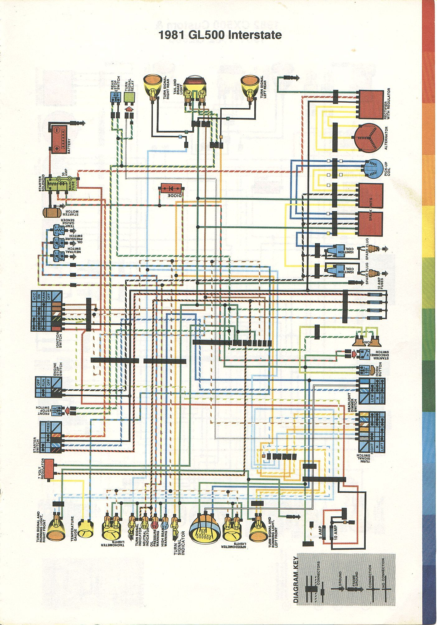 '79-81 honda cx500 wiring diagram · '
