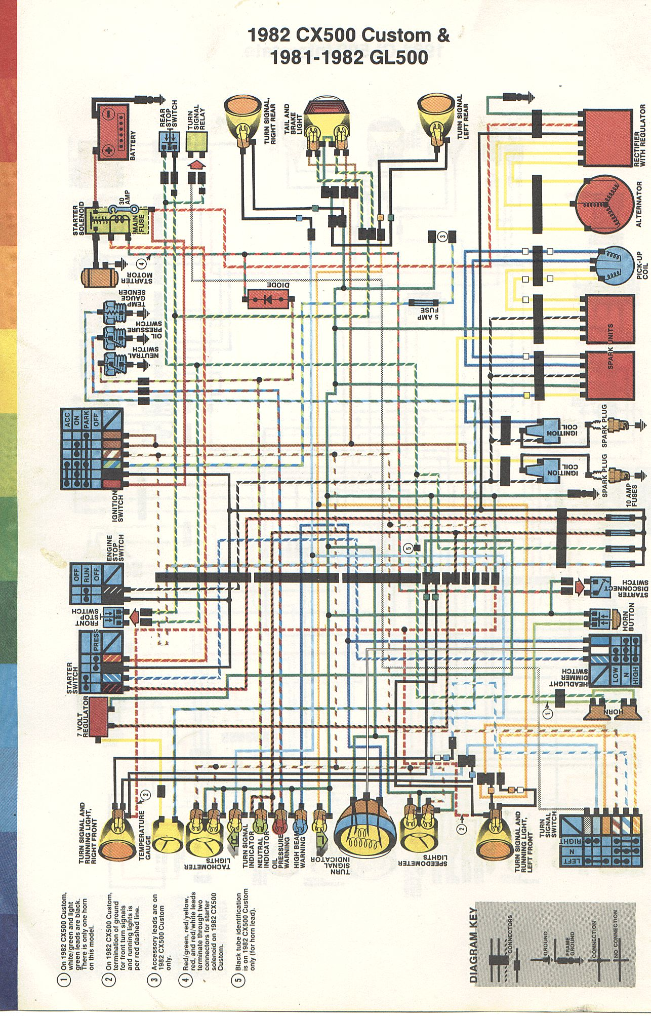 '81 honda gl500 interstate wiring diagram · '