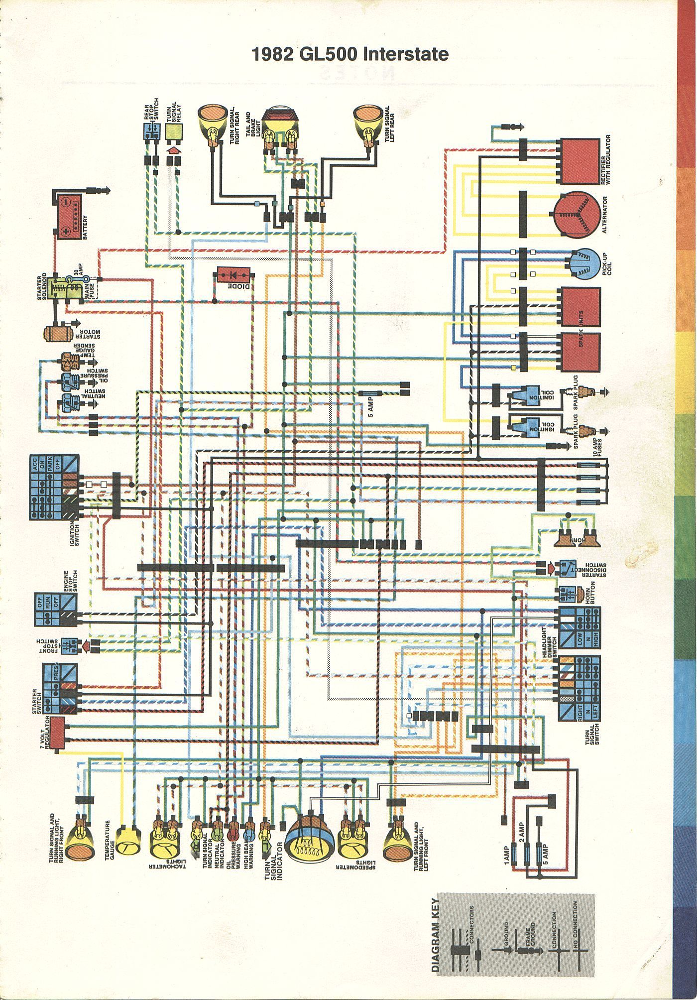 order of the knight other stuff page\u002782 honda gl500 interstate wiring diagram