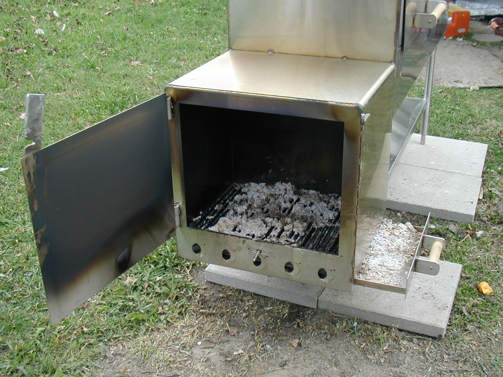 Smoker Door Latch   Pezcame.Com