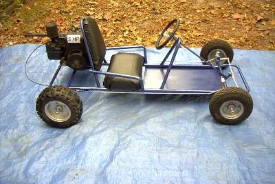 how to build a go kart frame without welding
