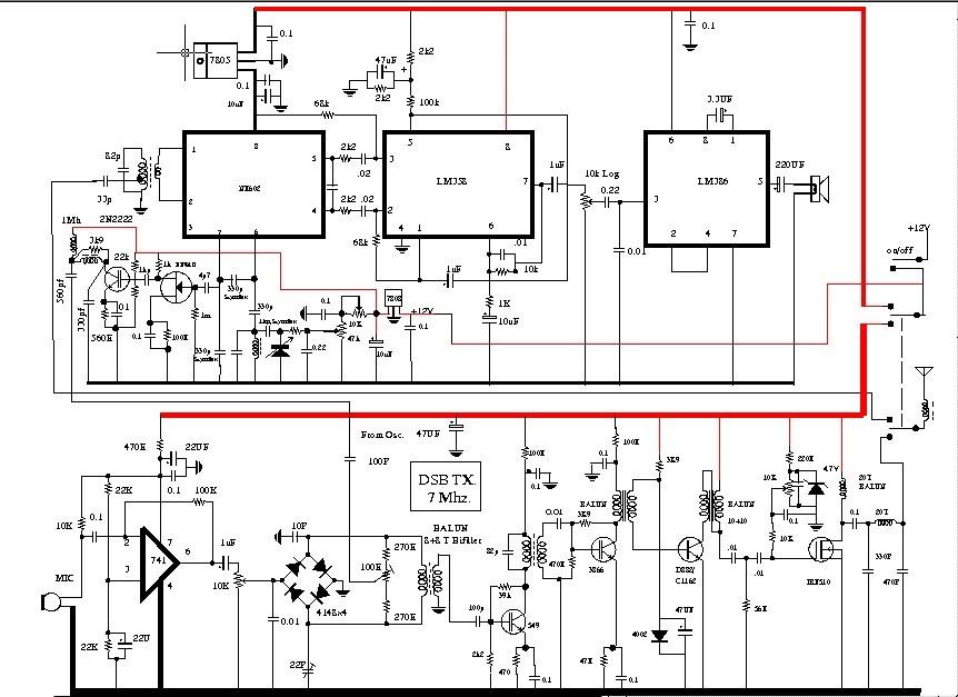 40m dsb circuit