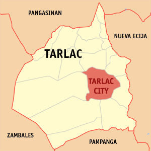 Robin Corpuz Website Tarlac City Map
