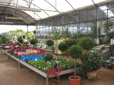 Garden Center Huerto San Valero B I E N V E N I D O S