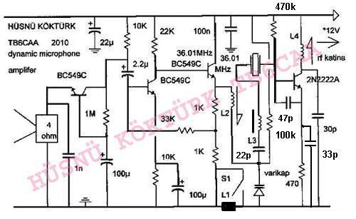 h u00fcsn u00fc k u00f6kt u00fcrk kristal osilator modulatoru  xtal crystal