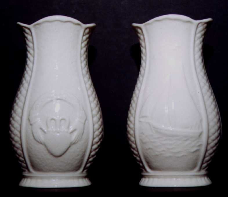 Claddagh Sailboat Vase