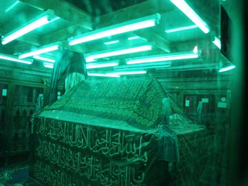 Graves of Prophets and very Pious people