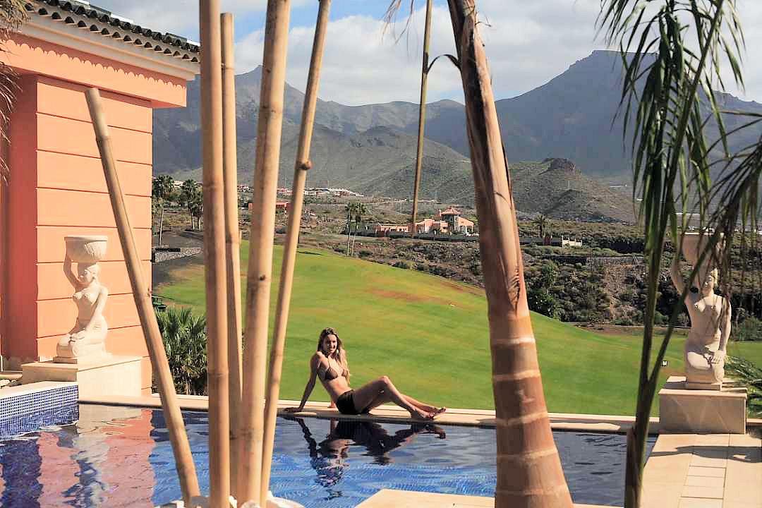 Ville di lusso giardini reali tenerife isole canarie spagna for Giardini per ville private