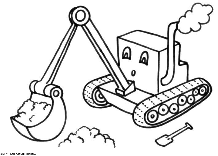 digger s coloring pages - photo#35