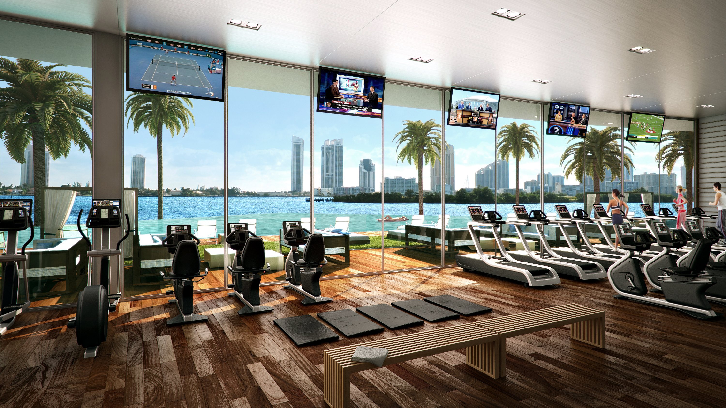 This Luxury Gym Costs $24,000 For A Membership