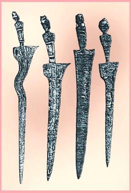 Keris sajen, atau keris sesaji, yang pada sebagian buku keris yang ditulis orang barat sering disebut keris Majapahit