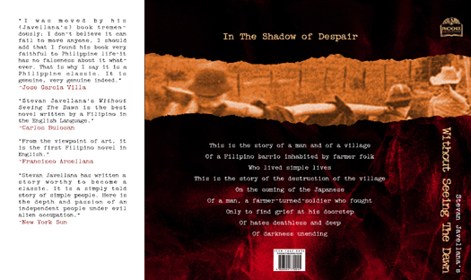 without seeing the dawn 2 essay Pardon me for being on memory lane for two consecutive posts now i couldn't help it i'm just proud of these ilonggos who has made a name not only in our country but in other as well besides i'm a history buff ^_^ so what is it this time it's stevan javellana's bestseller without seeing the dawn.