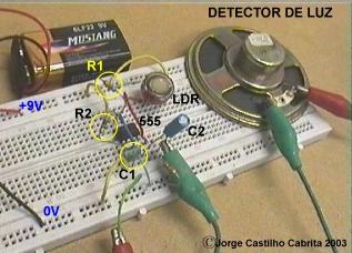Ensaio 3 detector de luz - Detector de luz ...