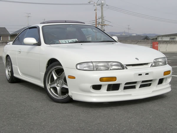 This Is One Of Really Nice Examples Of The Available JDM RHD SR20DET Nissan  S14 Silvia