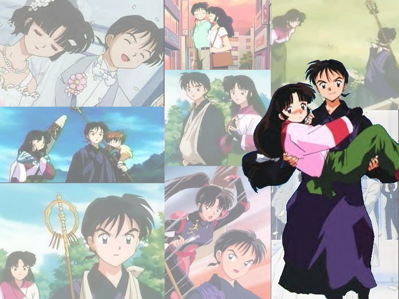The Best Sango And Miroku Wallpaper Ive Ever Laid Eyes