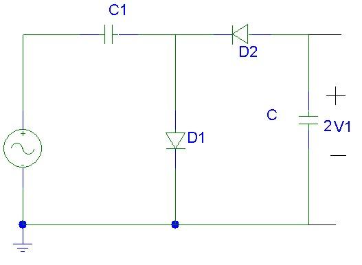 Circuito X : Electronica proyectos duplicador de voltaje