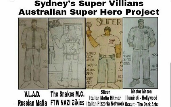 Australia's Super Villians