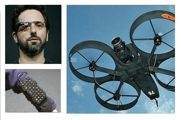 Mock Up of - Drone Fighter - Battle Gear