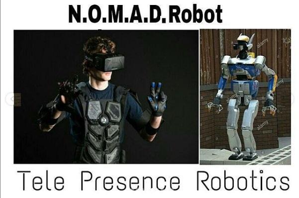 Tele-Presence Robotics - N.O.M.A.D.