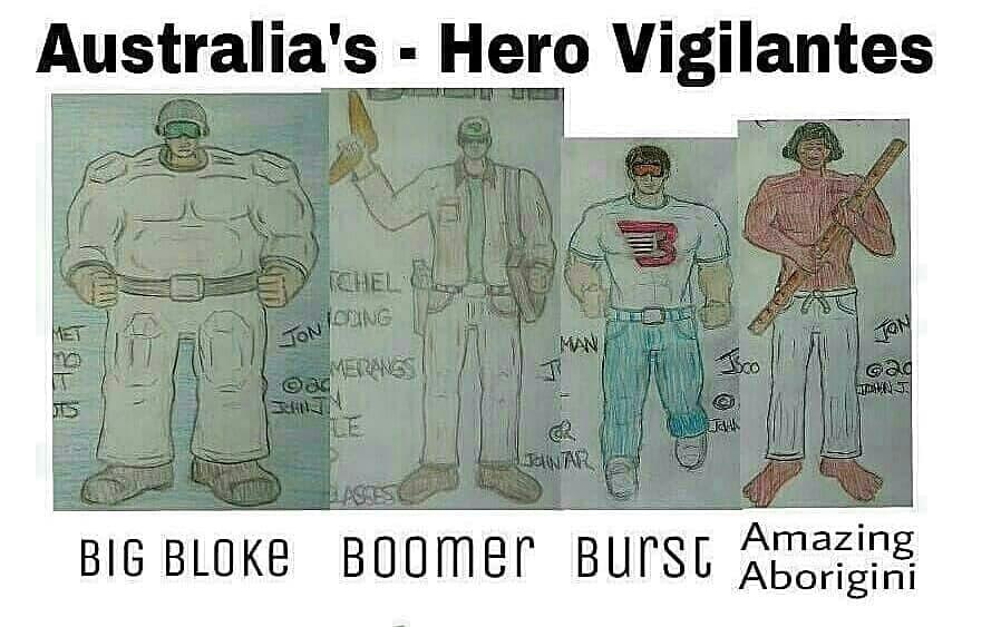 Australia's Other Heros