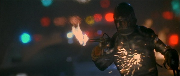 PYRO - FLAME THROWER - BATTLESUIT - FROM MOVIE - LETHAL WEAPON 3