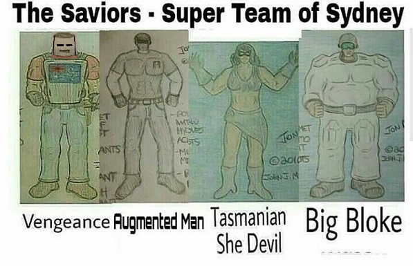 The Savior's - Super Team of Sydney, Australia
