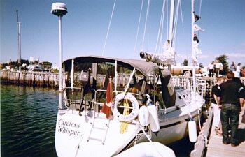 Careless Whisper at the Lewisporte marina