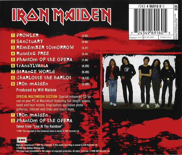 Iron Maiden Picture Gallery