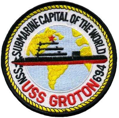 SSN-694 USS Groton Patch