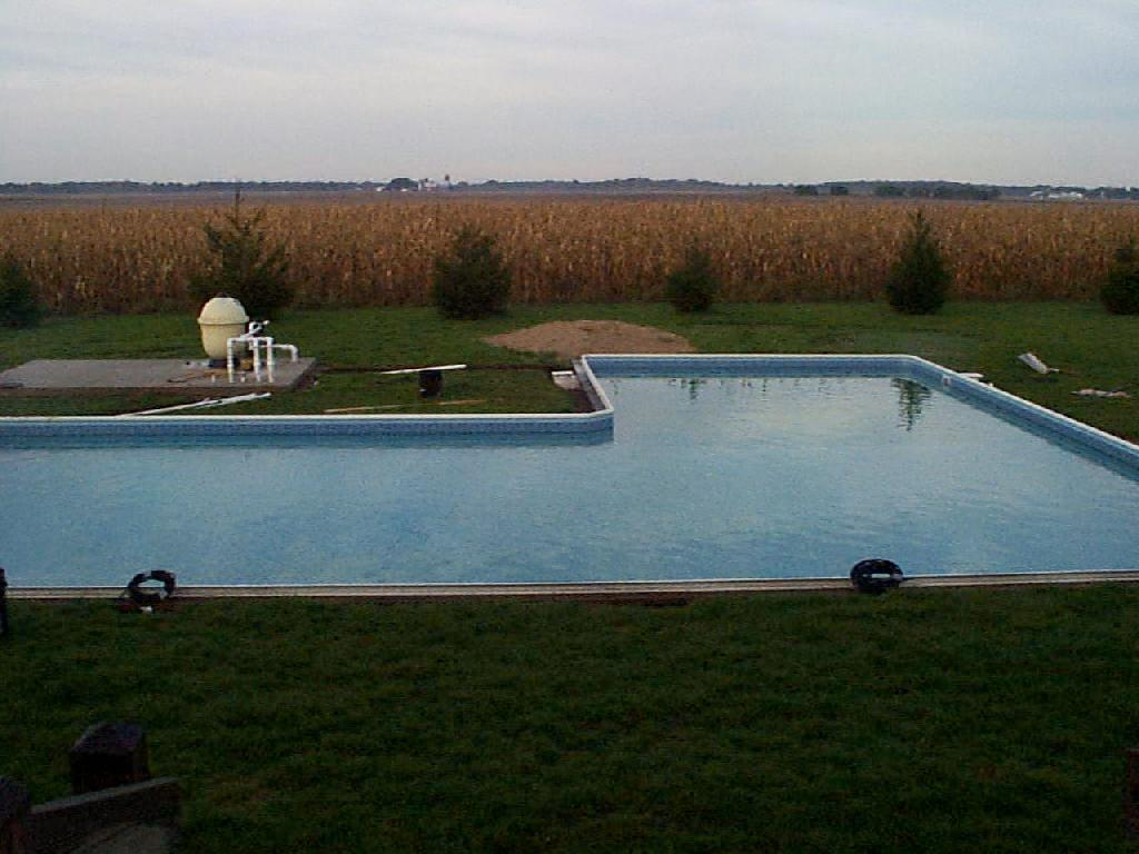 Pool Pics List Page Piping Layout Of Swimming Almost Done And Still 50 Degrees Water Temperature