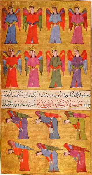 the angels islamic ones