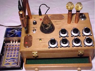 Golden Laser Orgone Automatic Crystal Accumulator