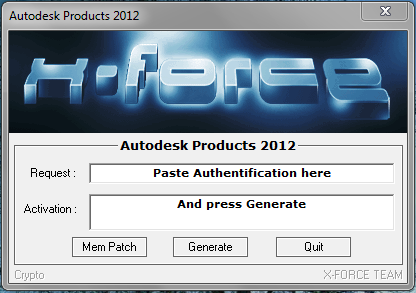 Download crack autocad 2013 64 bit xforce