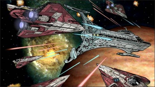 Kwenn S Star Wars Database Delta 7 Jedi Starfighter