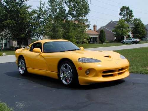 Dodge Viper Yellow 2001 dodge viper gts viper