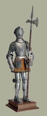 Armatura spagnola del XV secolo - L'Aquila - Abruzzo - Italy