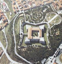 Veduta aerea - L'Aquila - Abruzzo - Italy