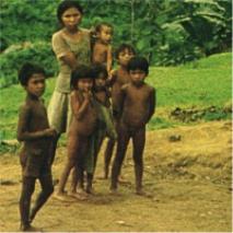 Ang Pitong tribong bumubuo sa komunidad ng Mangyan na may kanya