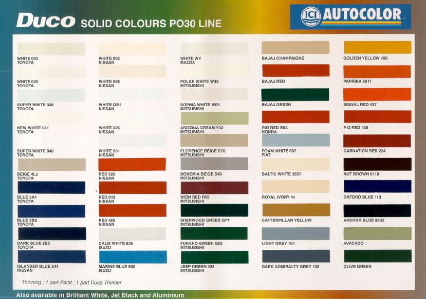 2011 Corvette Color Chart.html | Autos Post