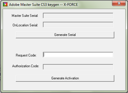 adobe creative suite 3 master collection activation code