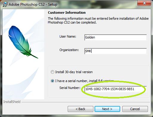 adobe photoshop cs3 authorization code keygen