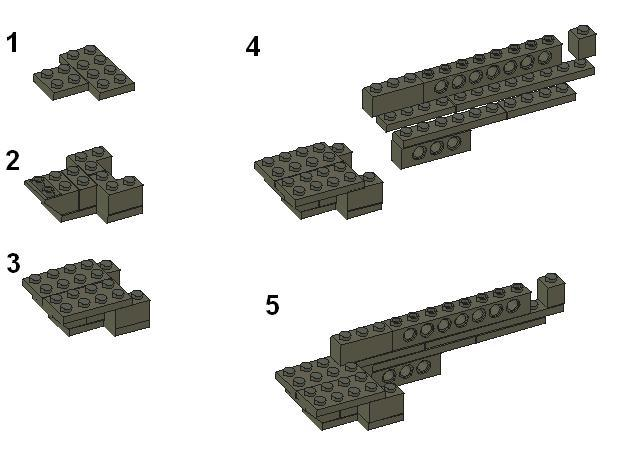 Lego gun instructions: Page 1