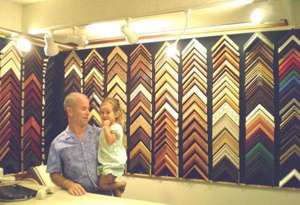 Levie Bio, Moloka\'i Frame Shop & Gallery-custom picture framing ...