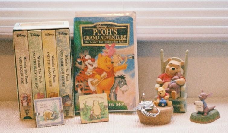 Pooh Vhs uk Pooh's Grand Adventure Vhs