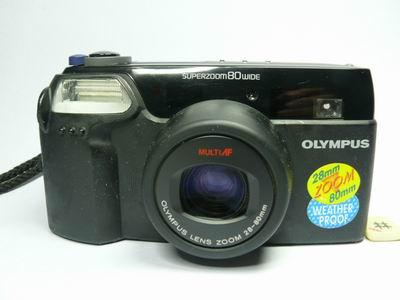 Olympus Superzoom 80 Wide Auto Range Finder c1994