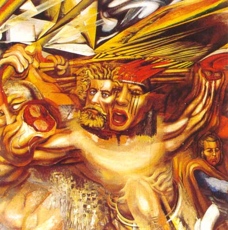 Siqueiros for Mural prepa 1 uaemex