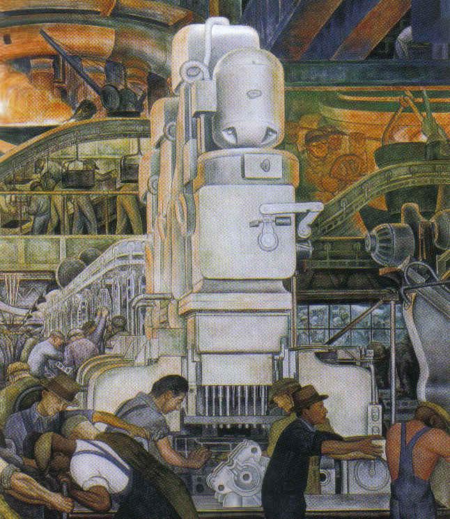 Rivera for Enjoy detroit mural