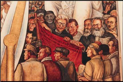 Rivera for Diego rivera lenin mural