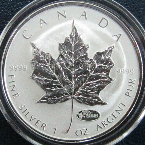 1 Oz Silver Maple Leaf