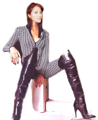 Loris Azzaro Vinyl Pants Roberto Cavalli Shoes Picture 6